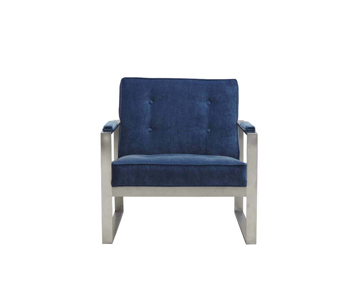 pewter chair huge lawn customizable malone metal miller s home furnishings