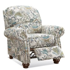 Reclining Accent Chair Folding Chaise Lounge Plastic Chocolate Weimer Miller S Home Furnishings Floral Jpg