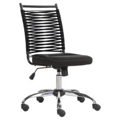 Bungee Office Chairs Accent Dining Room Charlie Youth Black Chair Miller S Home Furnishings