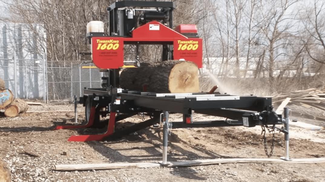 Timberking 1600 Blade Length