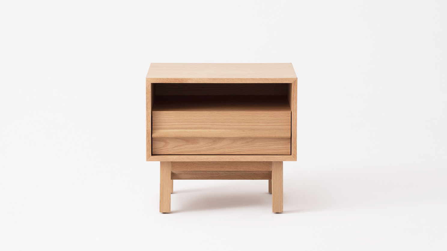 Marcel Nightstand Open Shelf M Collection Home