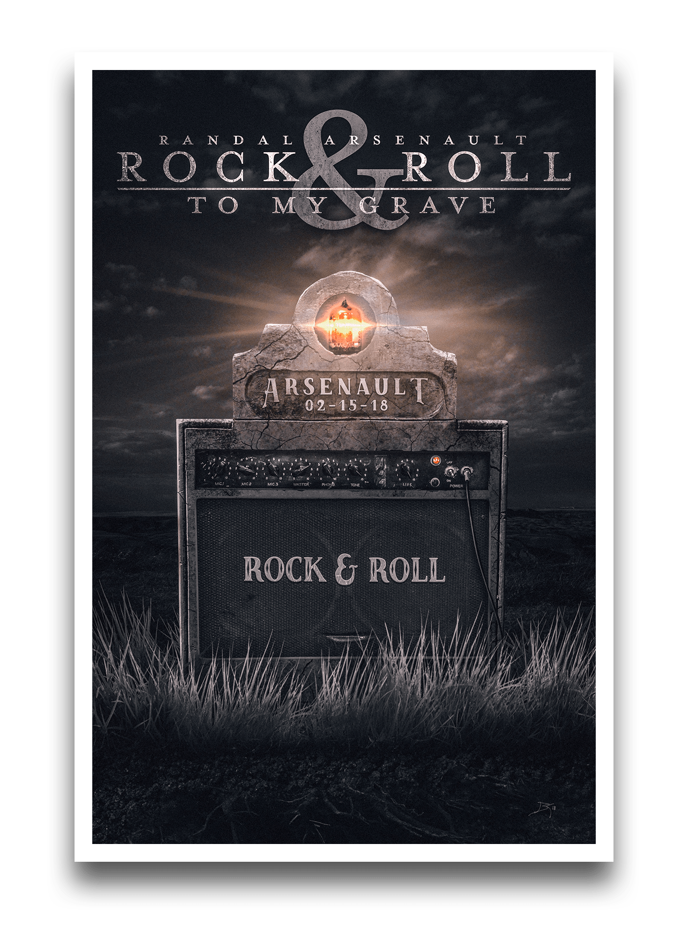 poster rock roll to