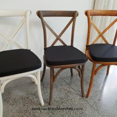 Black Cross Back Chairs Nz Office Chair You Can Sleep In White Wash Auckland Event Hire