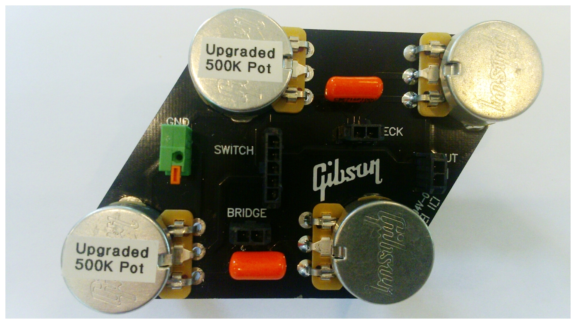small resolution of gibson les paul circuit board upgrade