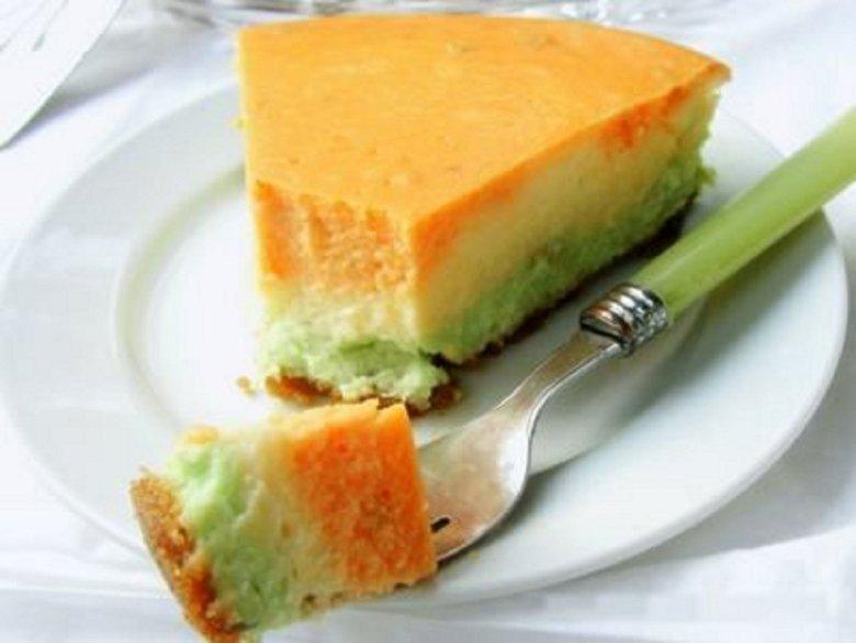 Kiwi and Orange Cheese Cake /Image: Supplied