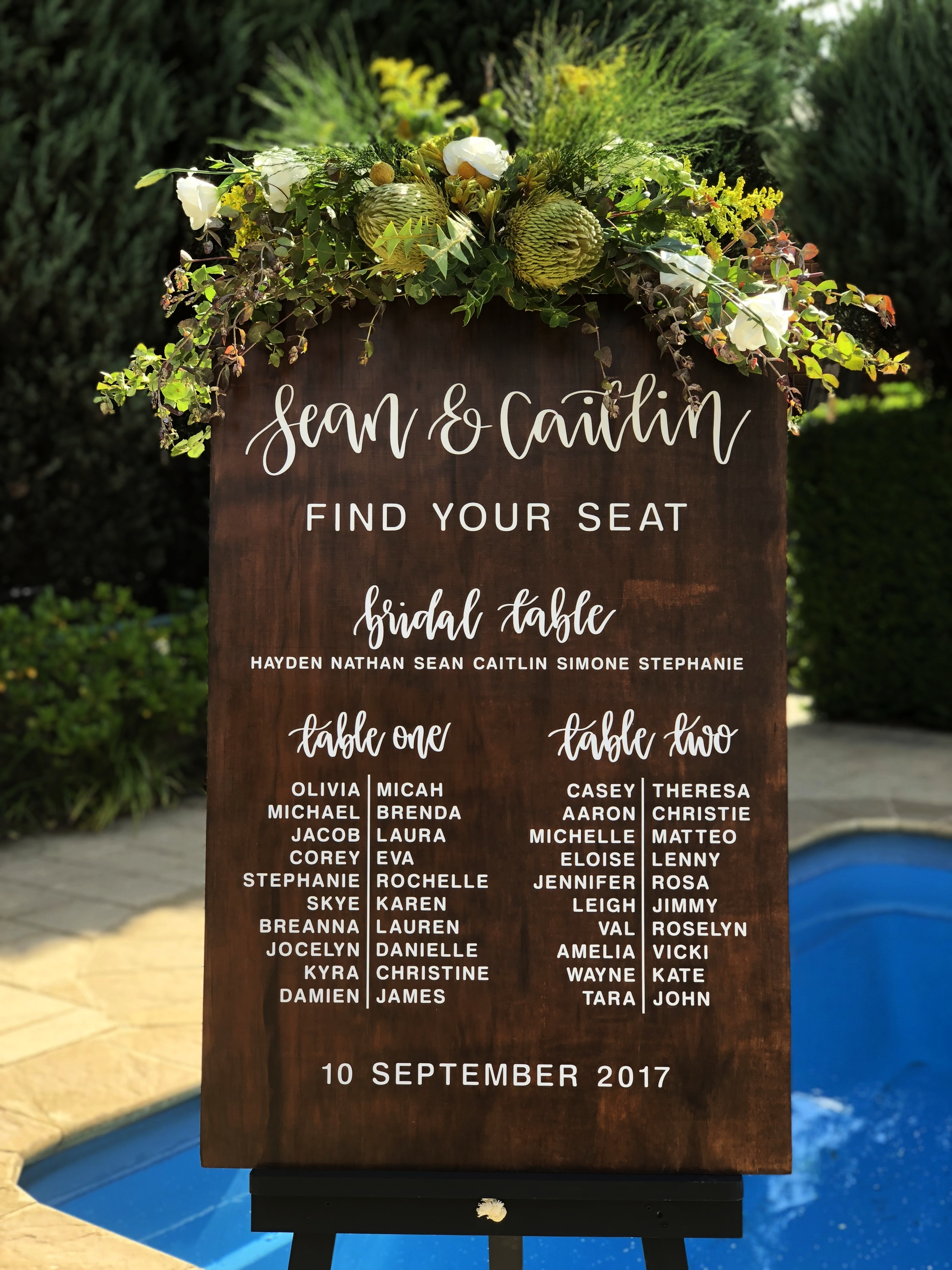 Long table seating chart also  the wedding sign co rh theweddingsignco