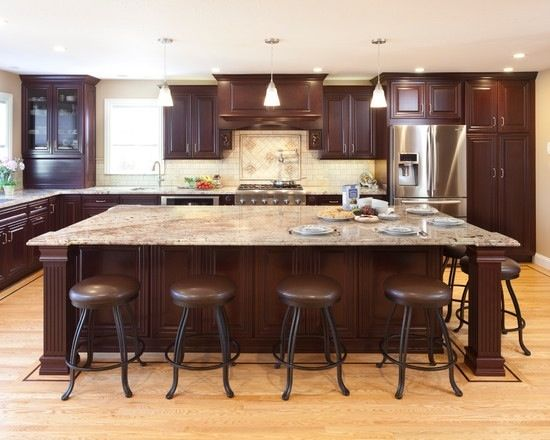 kitchen island large counter organization ideas designing a heather hungeling design to be fair designers who have committed this offense i will say that sometimes client really associates these square islands with