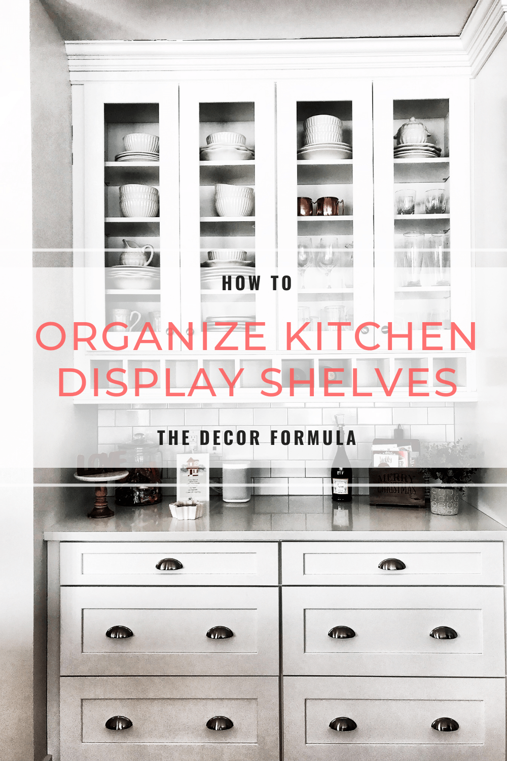 kitchen display bell shelf organization how to organize cabinets