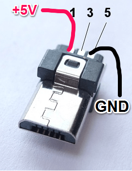 Micro Usb Wiring : micro, wiring, Micro, Pinout,, Because, Everything, Terrible, Never, Building, Crafting, Japanese, Techniques