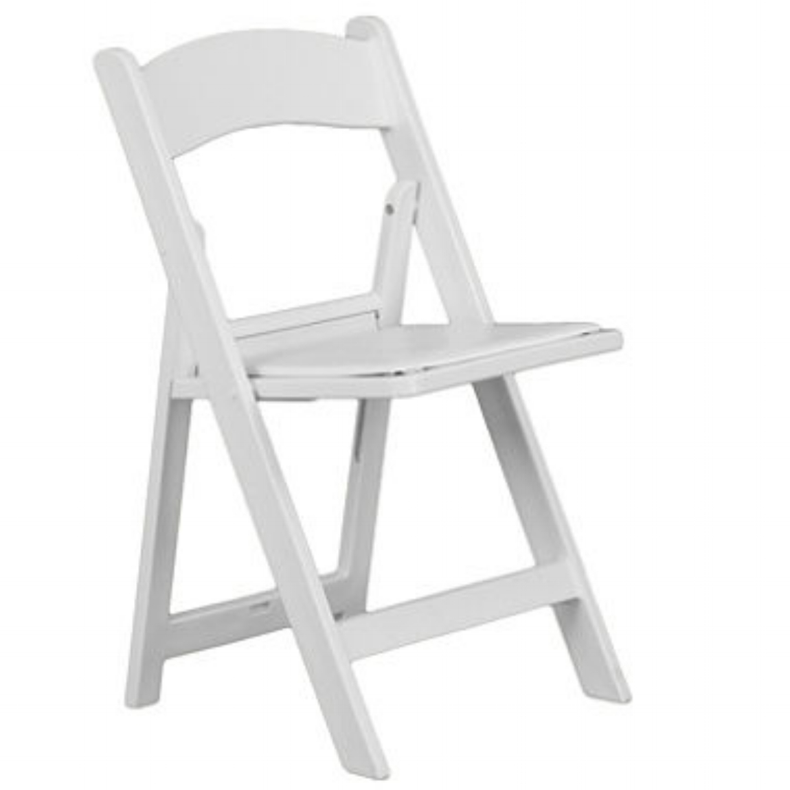 Resin Chairs White Resin Deluxe Folding Chairs