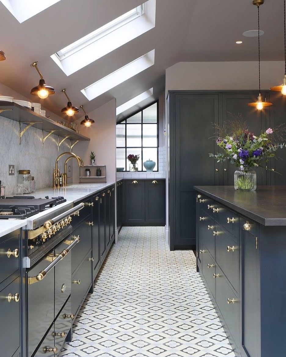 tiled kitchen floors cabinets houston area floor yay or nay ariel noelle interiors
