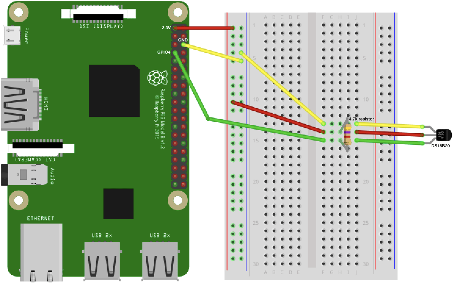 raspberry pi 3 model b wiring diagram trailer wire 7 how to build a temperature sensor taygan circuit png