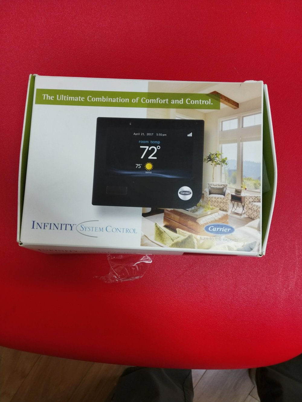 medium resolution of carrier infinity new thermostat jpg