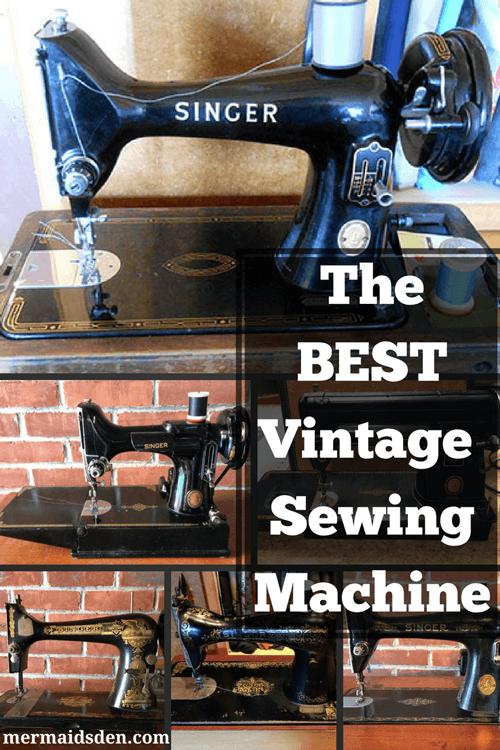 Vintage New Home Sewing Machine : vintage, sewing, machine, Vintage, Sewing, Machine, Mermaid's