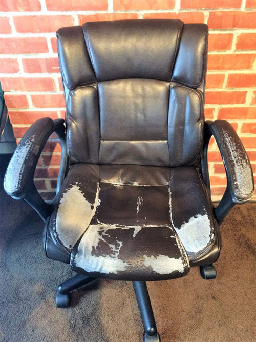 How to Reupholster an Office Chair  The Mermaids Den