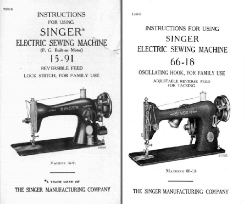 Singer Manufacturing Company Sewing Machine