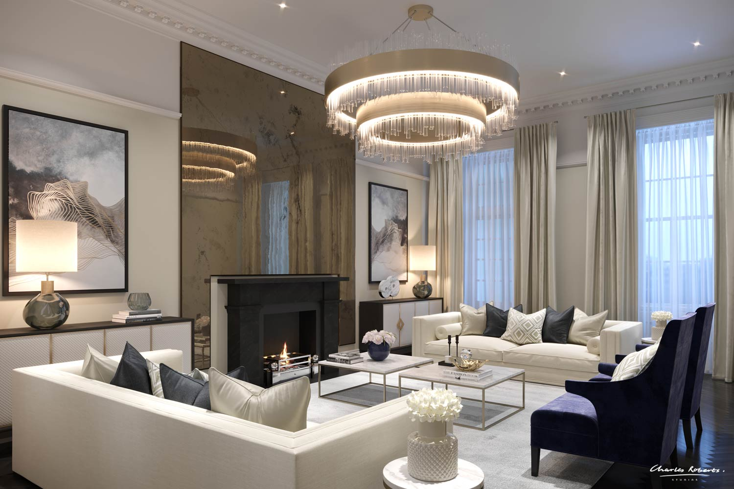 images of living rooms with interior designs chair rail ideas for room artists impression luxury design computer generated image the reception