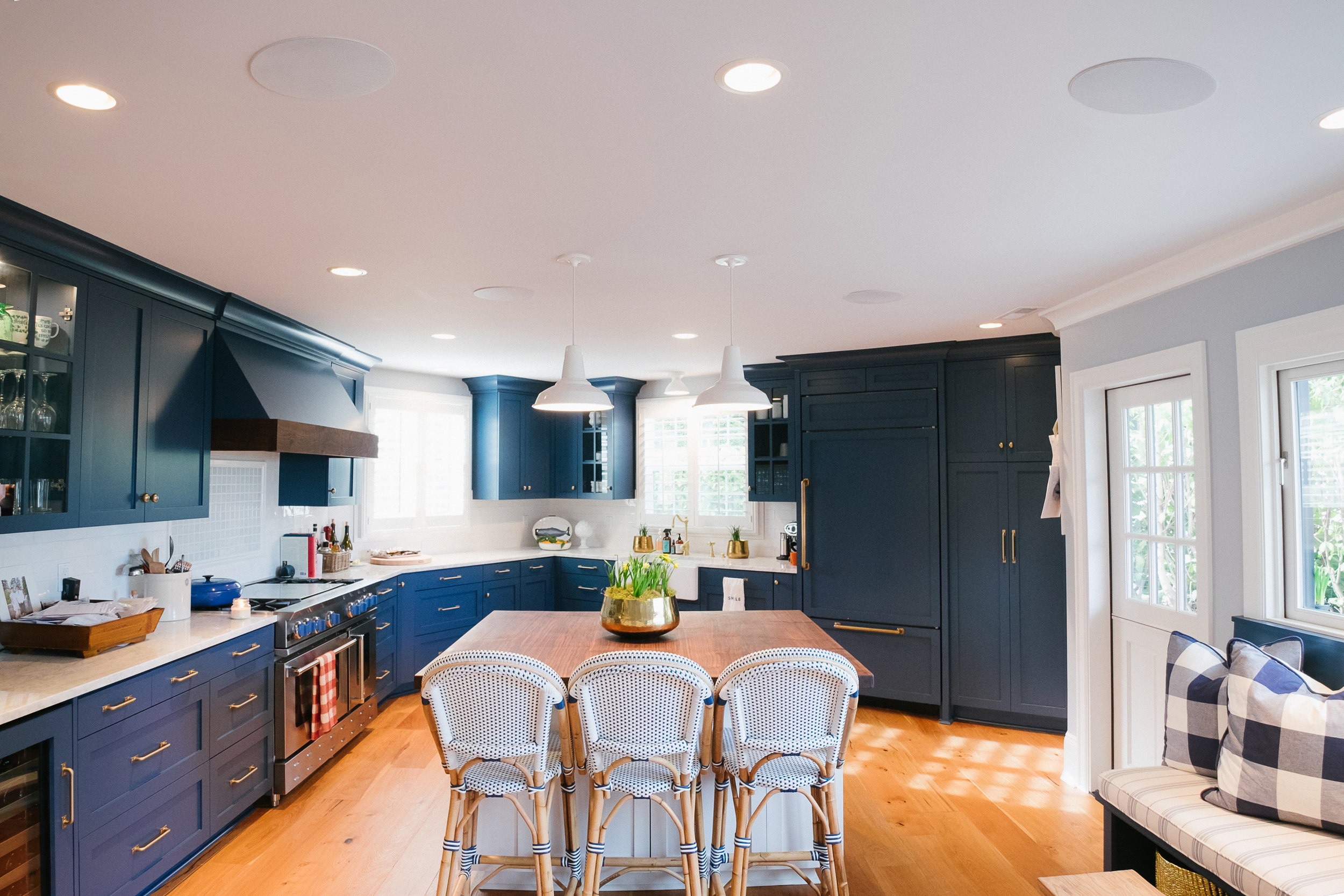 kitchen speakers counter bar stools residential ohm systems