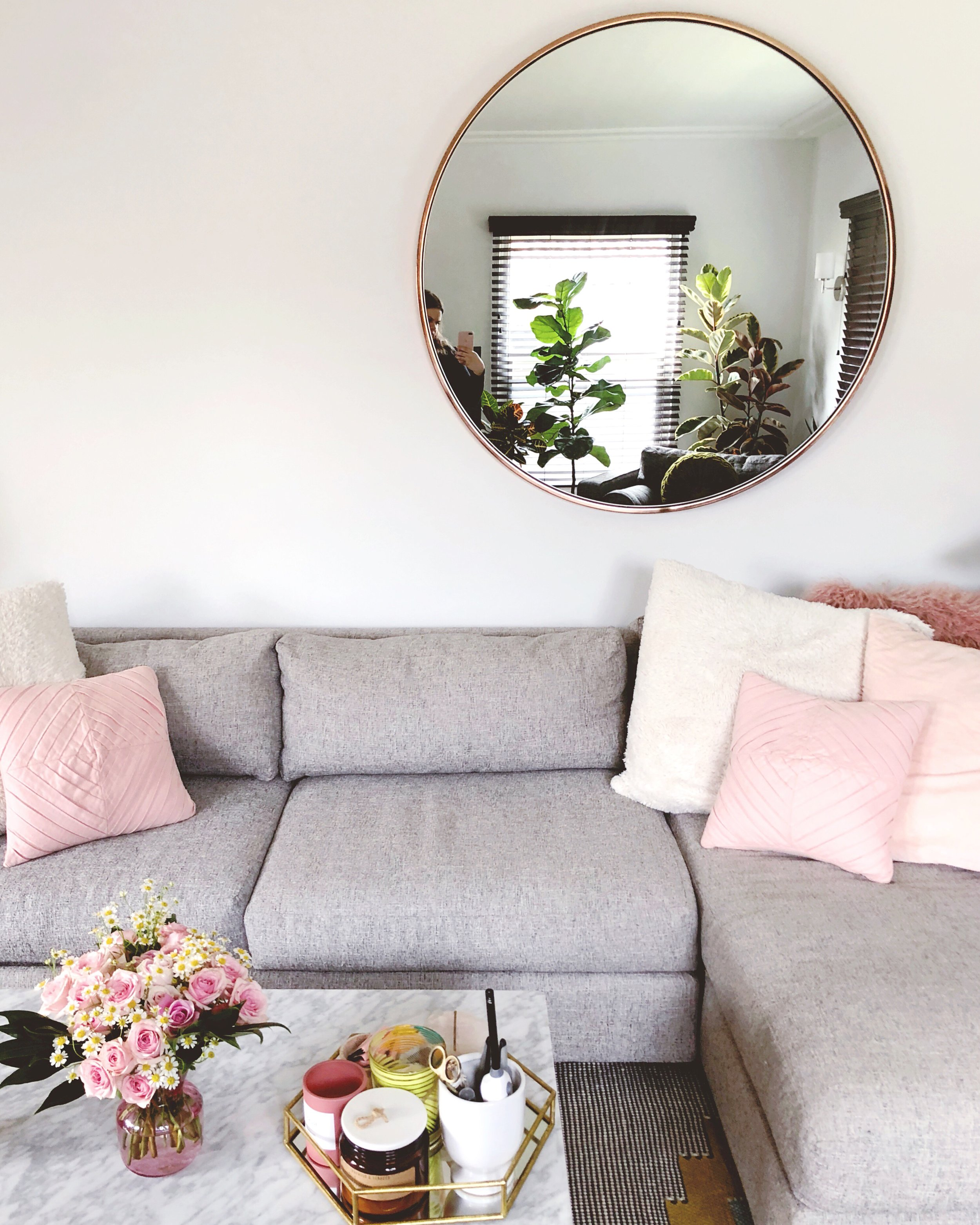 west elm living rooms room furniture ideas tips tour with shopping links reviews ashley hosmer couch