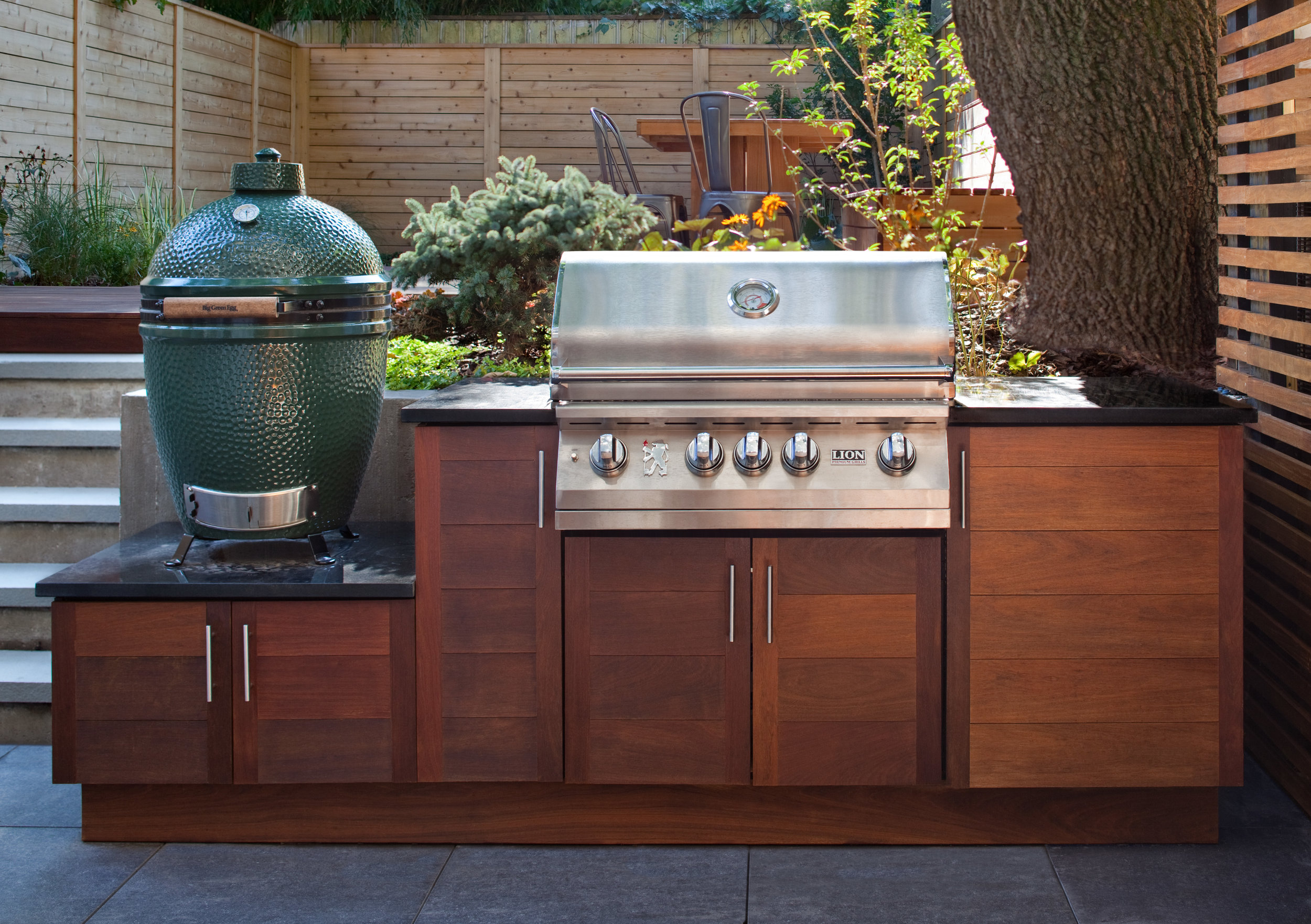 out door kitchen automatic faucet outdoor bbq design brooklyn nyc custom jpg