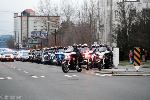 Procession for Sheriff's Deputy Daniel McCartney (6 of 11)