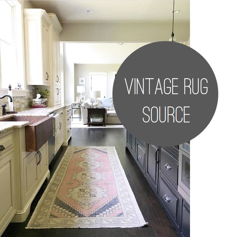 kitchen sink rugs honest things to consider when deciding put a rug in your urbanrug vintage oushak runner modern farmhouse with copper redefined