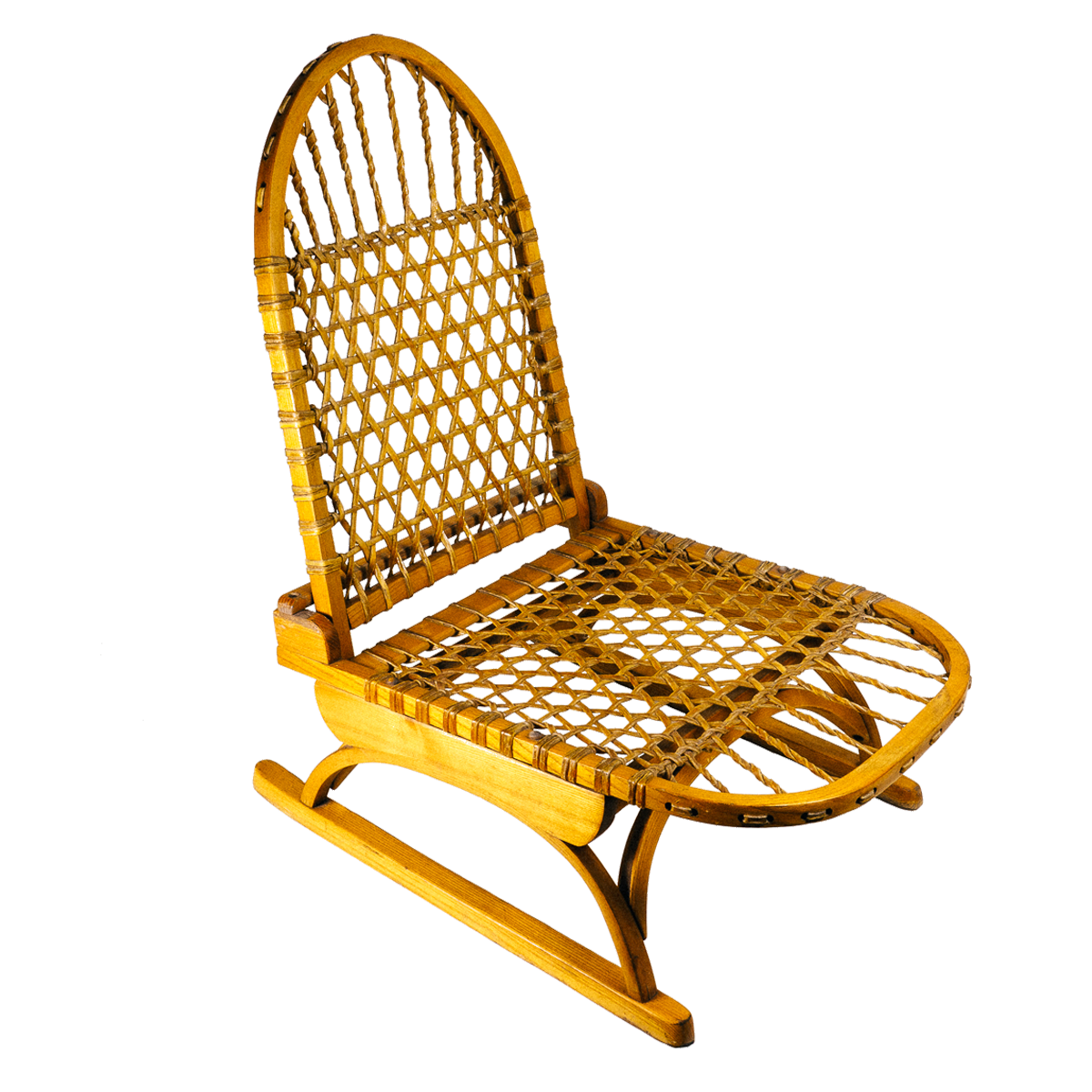 canoe chair swivel height adjustment vermont tubbs snowshoe style wilderness trading co