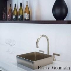 Kitchen Sinks And Faucets Space Saving Radiators Kitchens Elegant Additions Jackson Showroom Vignette Dmf Deck Mount Faucet