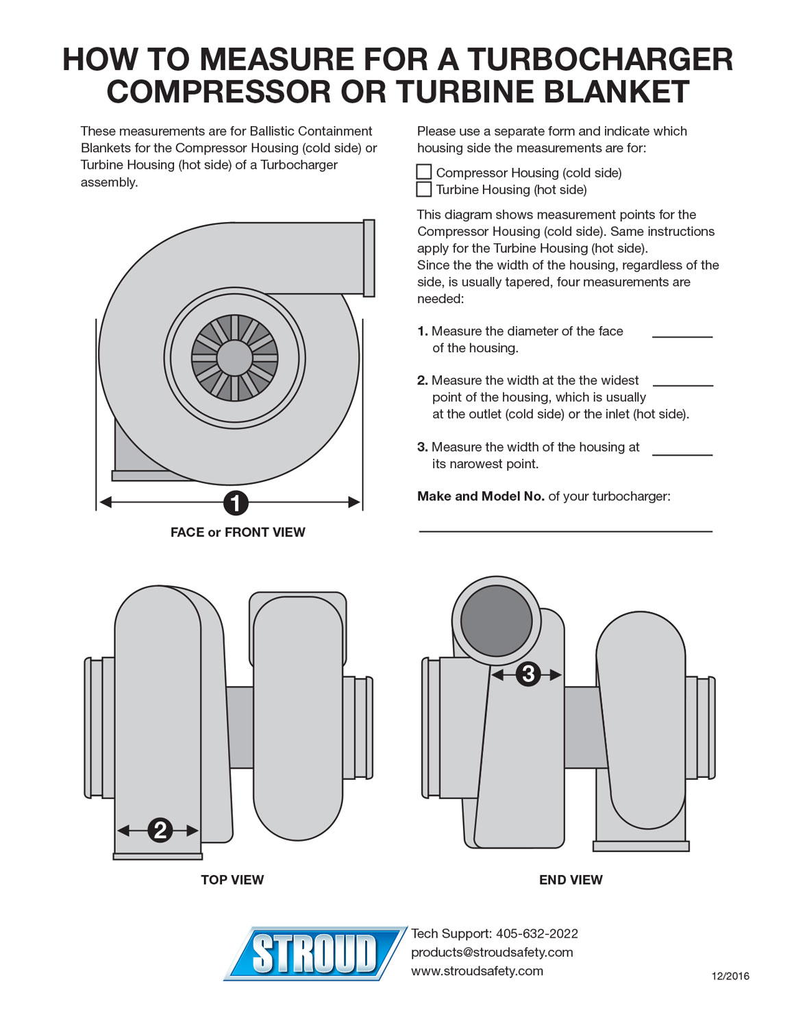 hight resolution of download the how to measure for a turbocharger compressor or turbine blanket instruction sheet here