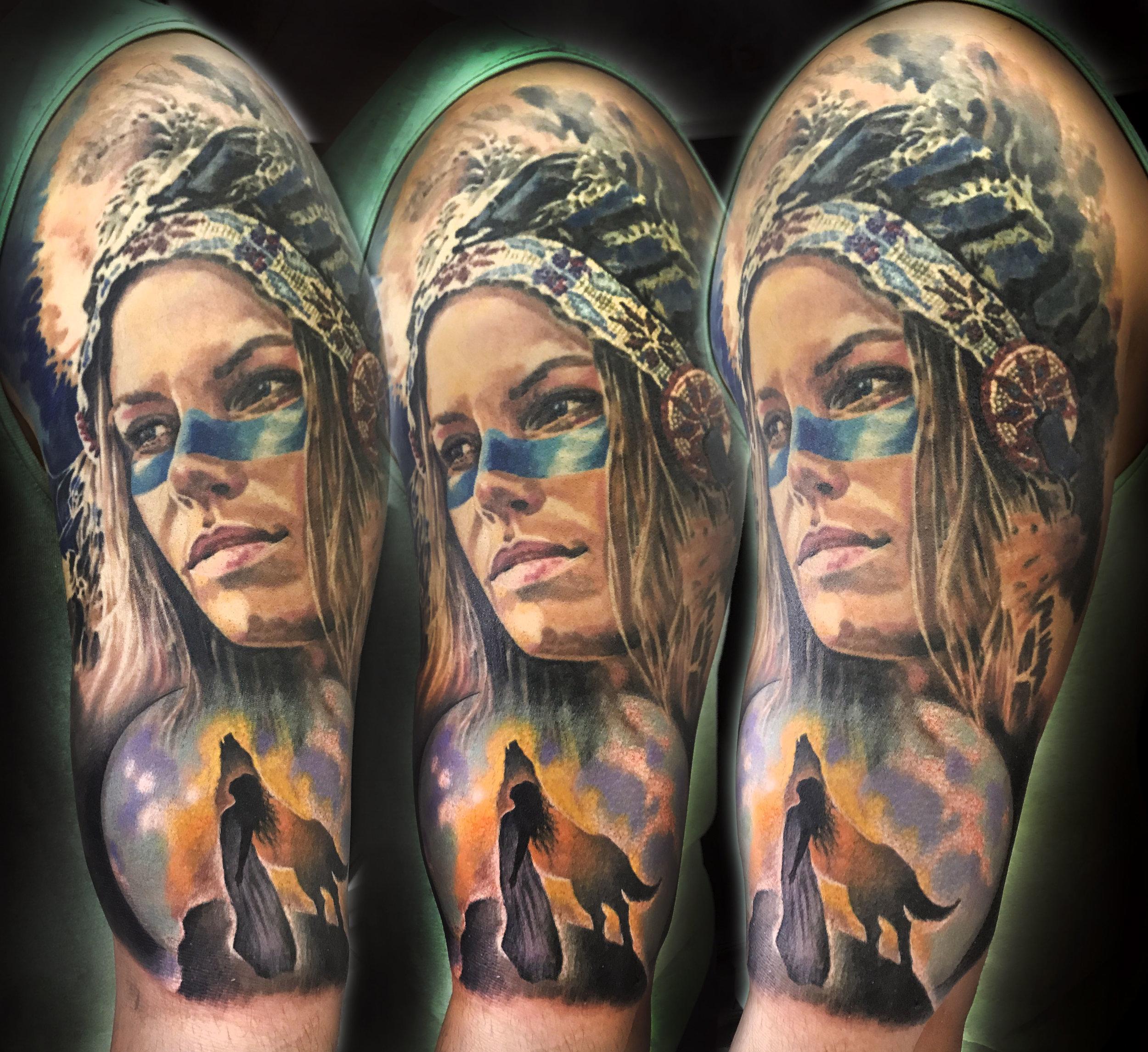 Tatuajes Realistas La Mujer Como Inspiración ángel De Mayo Tattoo