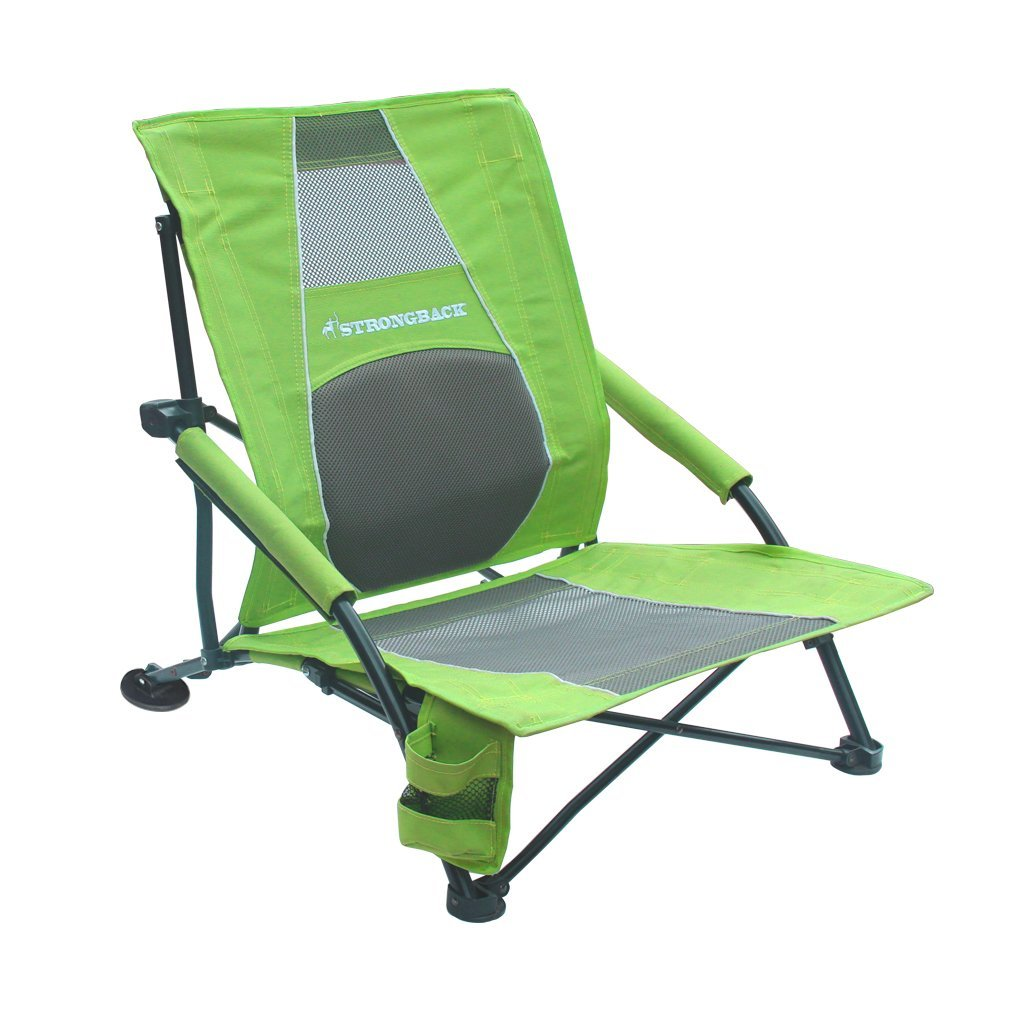 beach chair cup holder italian dining chairs nz low profile with lumbar support seaside