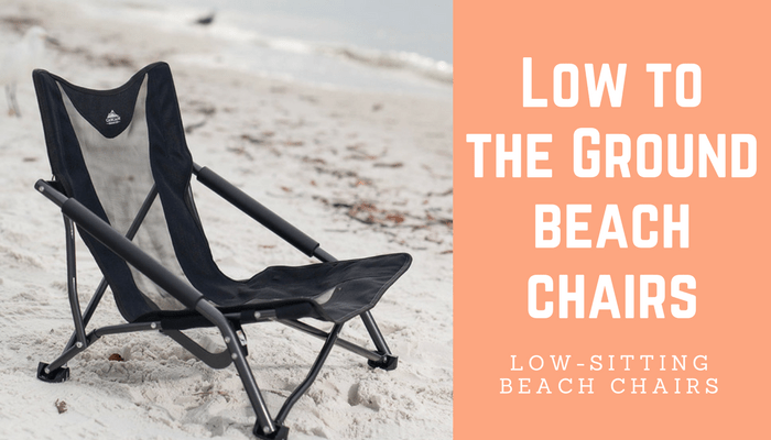 folding low beach chair rocking seat cushion to the ground chairs seaside wisdom