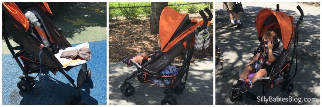 Summer Infant 3D One Leg Rest