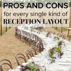 Chair Cover Alternatives Wedding Egg Ikea Reception Seating Arrangements Pros And Cons For Every Table Layout Wedpics Blog
