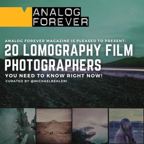 20 fotografi di film Lomography che devi conoscere!
