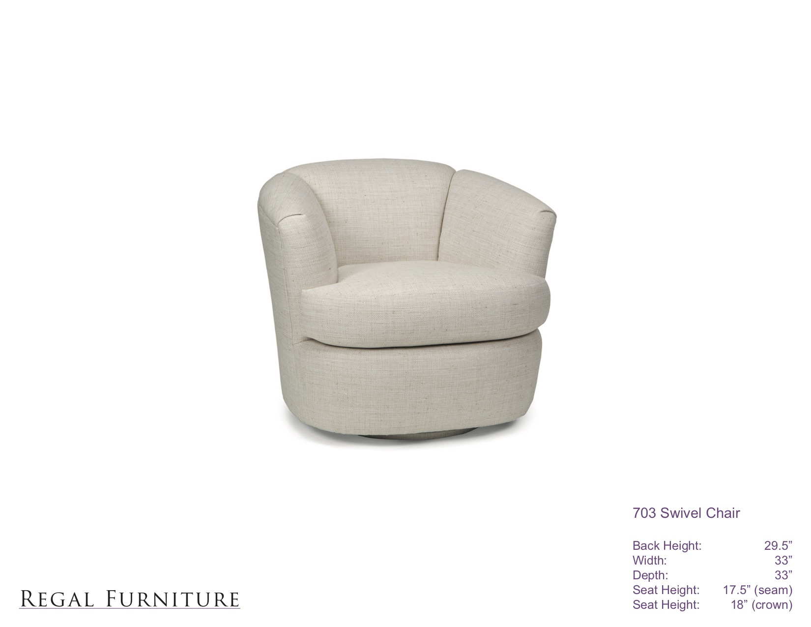 swivel chair regal colorful dining room chairs furniture 703swivel jpg