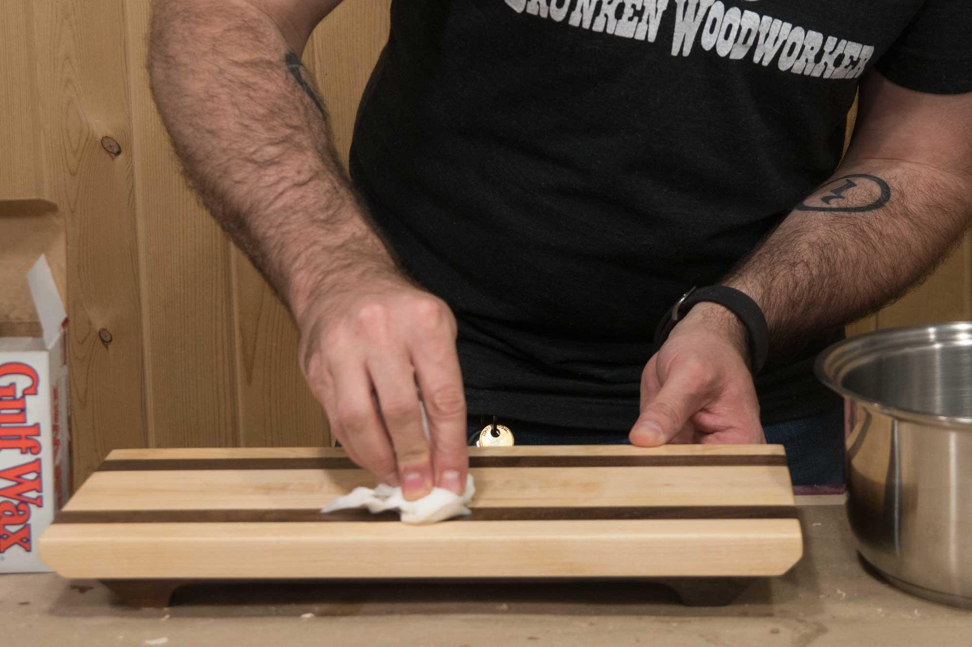 Cutting Board Finish Varnish
