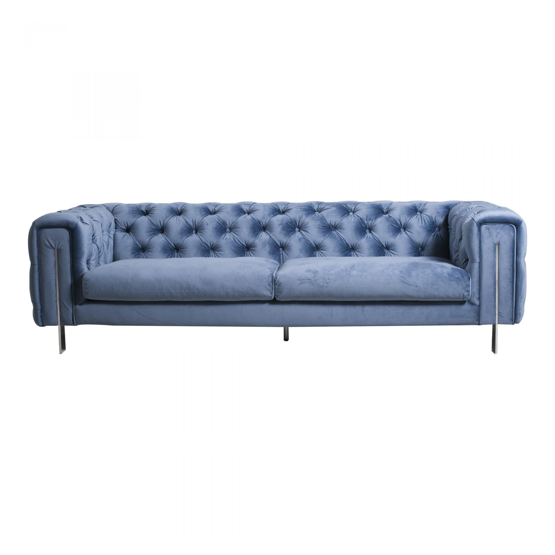 aqua sofa 3 seater corner storage futon bed courtney seat blue h interiors