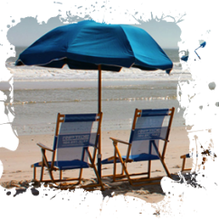 Beach Chairs And Umbrella Custom Kids Chair Services Rentals Umbrellas Surf Boards Sups