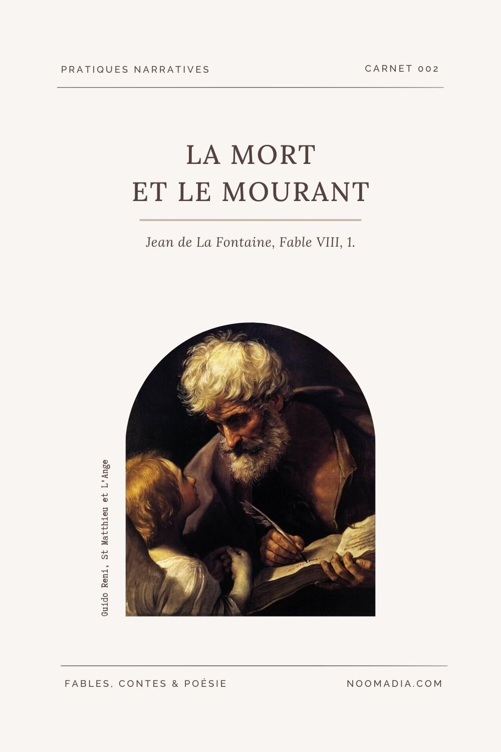 La Mort Et Le Mourant Analyse : mourant, analyse, Mourant, Fontaine,, Fable, VIII,, Noomadia