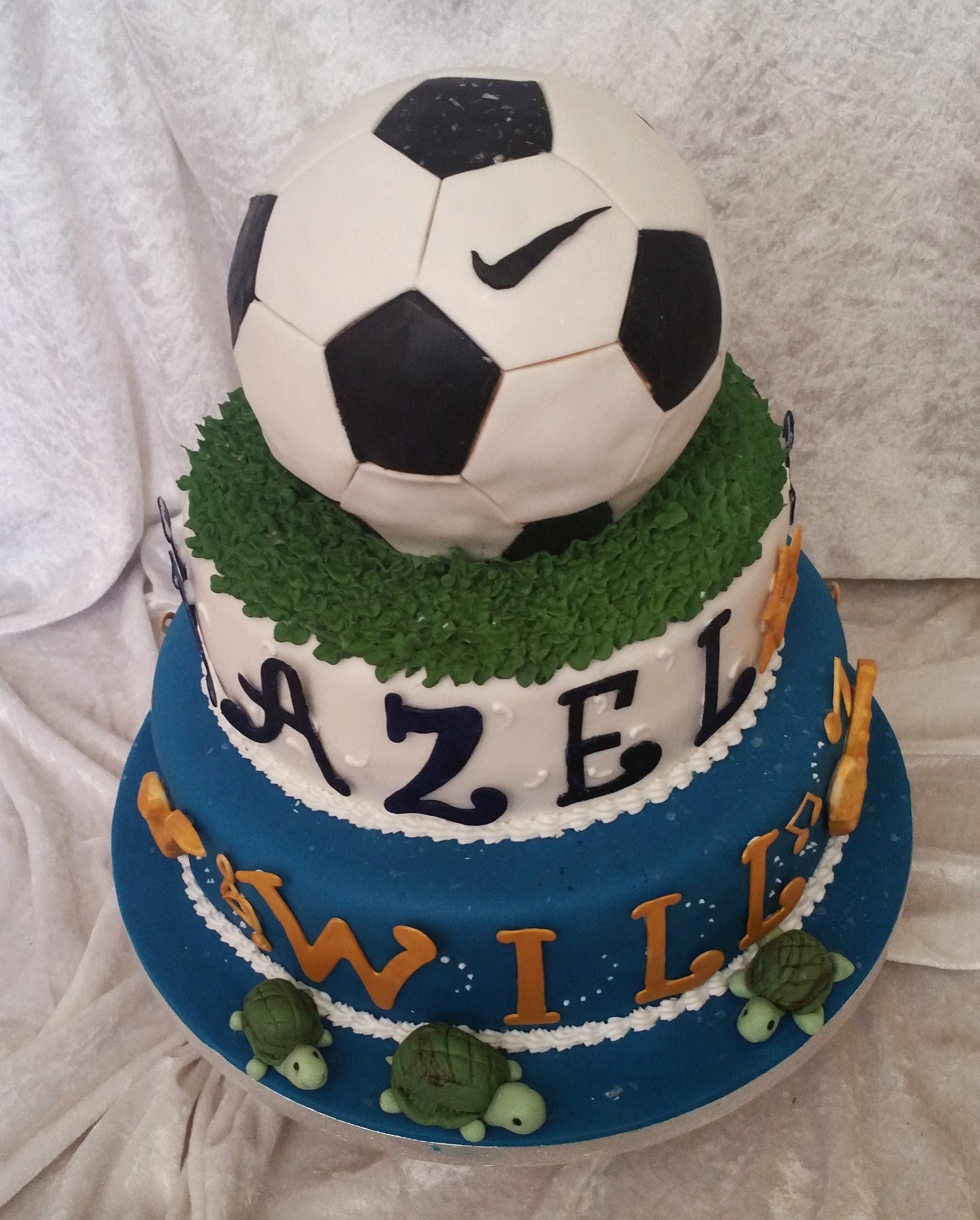 Football Birthday Cake Cakeadelic