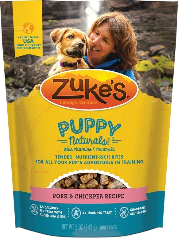 Zuke's Puppy Pork & Chickpea Recipe Dog Treats - 5 oz Bag — Pet ...