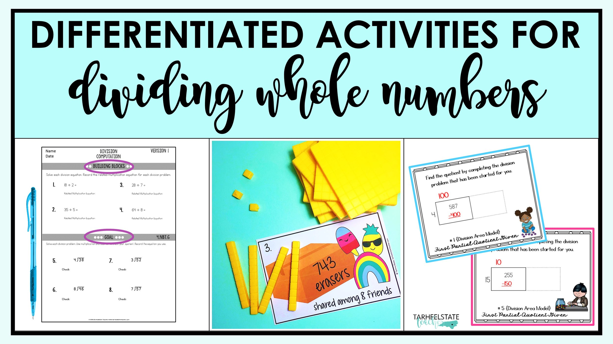 medium resolution of Dividing Whole Numbers: Ideas for 4th and 5th Grade — Tarheelstate Teacher