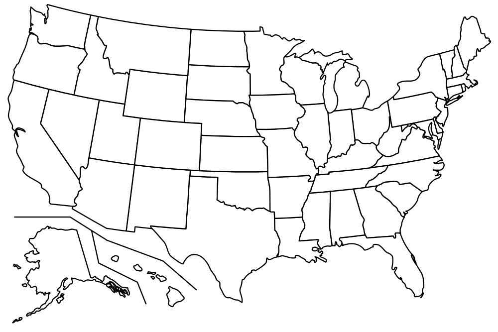 How to Memorize all 50 States, their Locations, and their