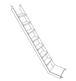 stairway diagram jpg [ 1000 x 1415 Pixel ]