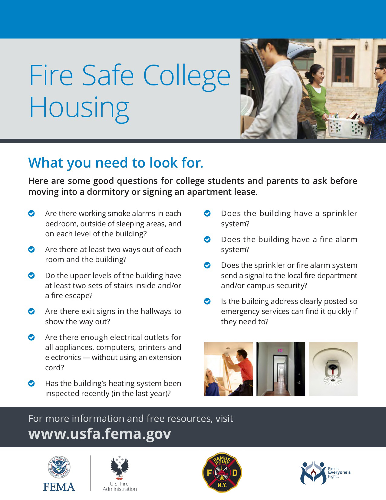 hight resolution of campus fire safety flyer jpg