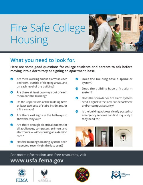 small resolution of campus fire safety flyer jpg
