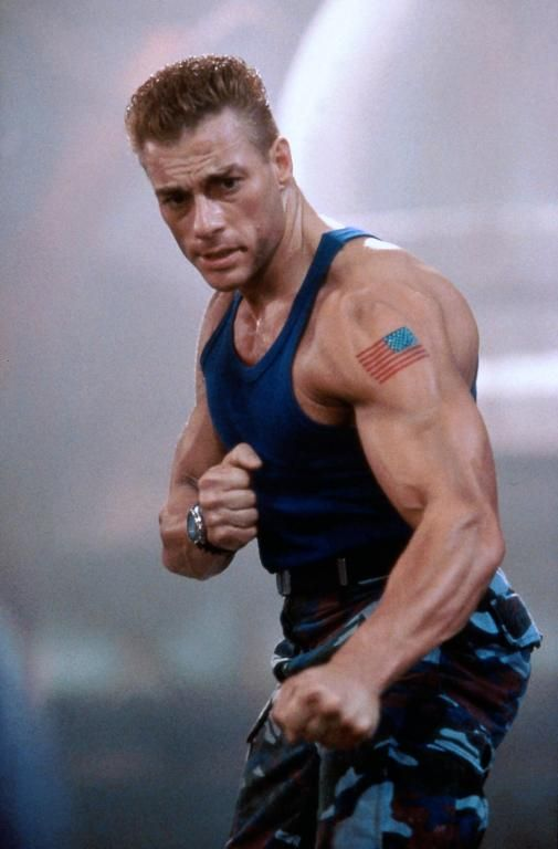 Jean Claude Van Damme Age : claude, damme, Retro, Isn't, Jean-Claude, Damme, Edition, Cinema76