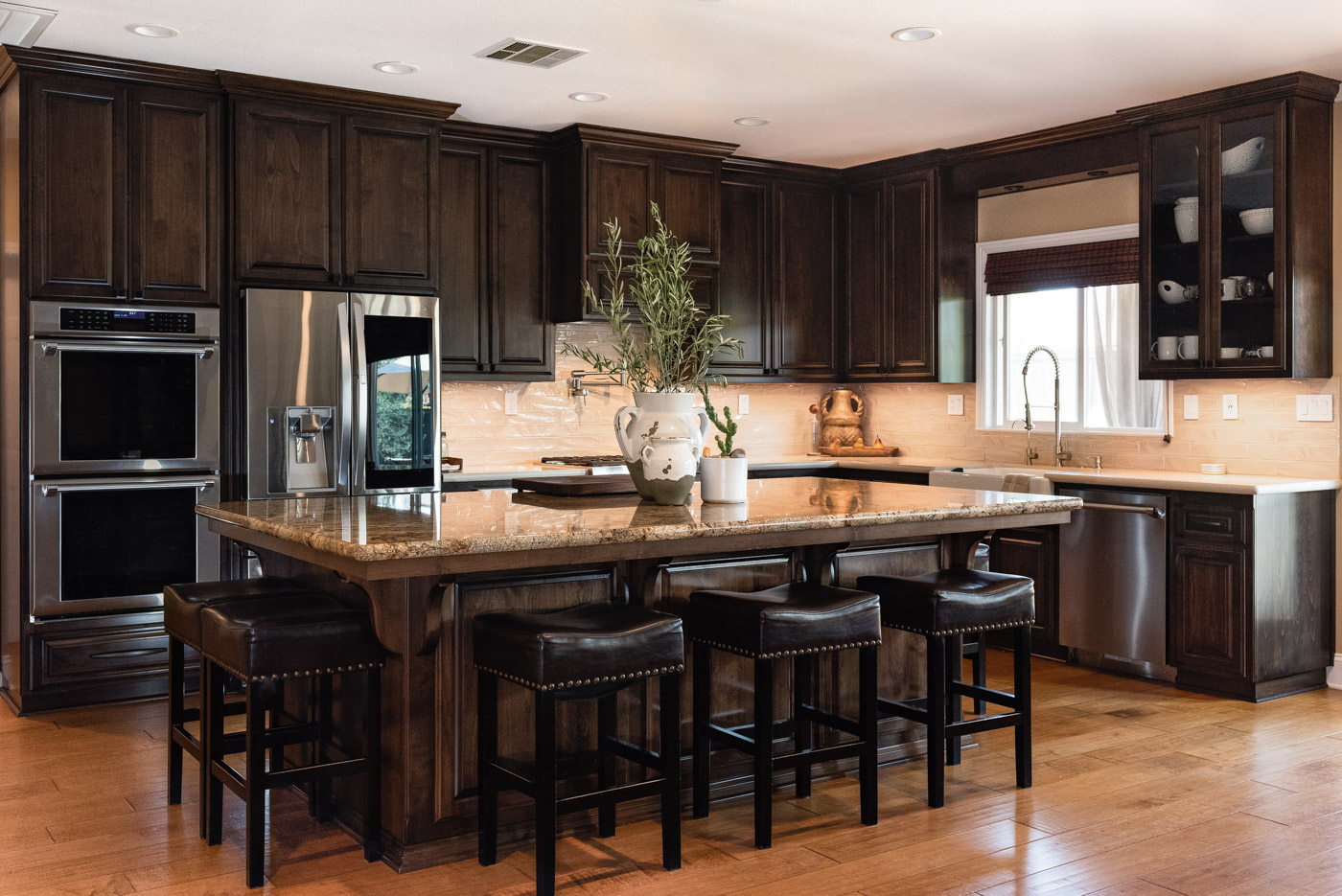 custom kitchen create a traditional mediterranean cabinets in paso robles sligh design 1 jpg