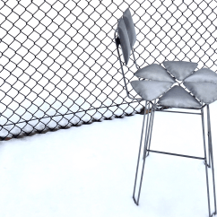 Steel Chair Manufacturing Process Desk Ergonomic Requirements Inflated Gabe Volk To Design The I Employed A Called Hydro Forming Which Uses Water Inflate Flat